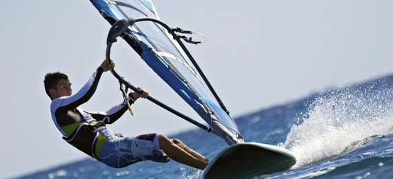 Photos of Spanish and Windsurfing